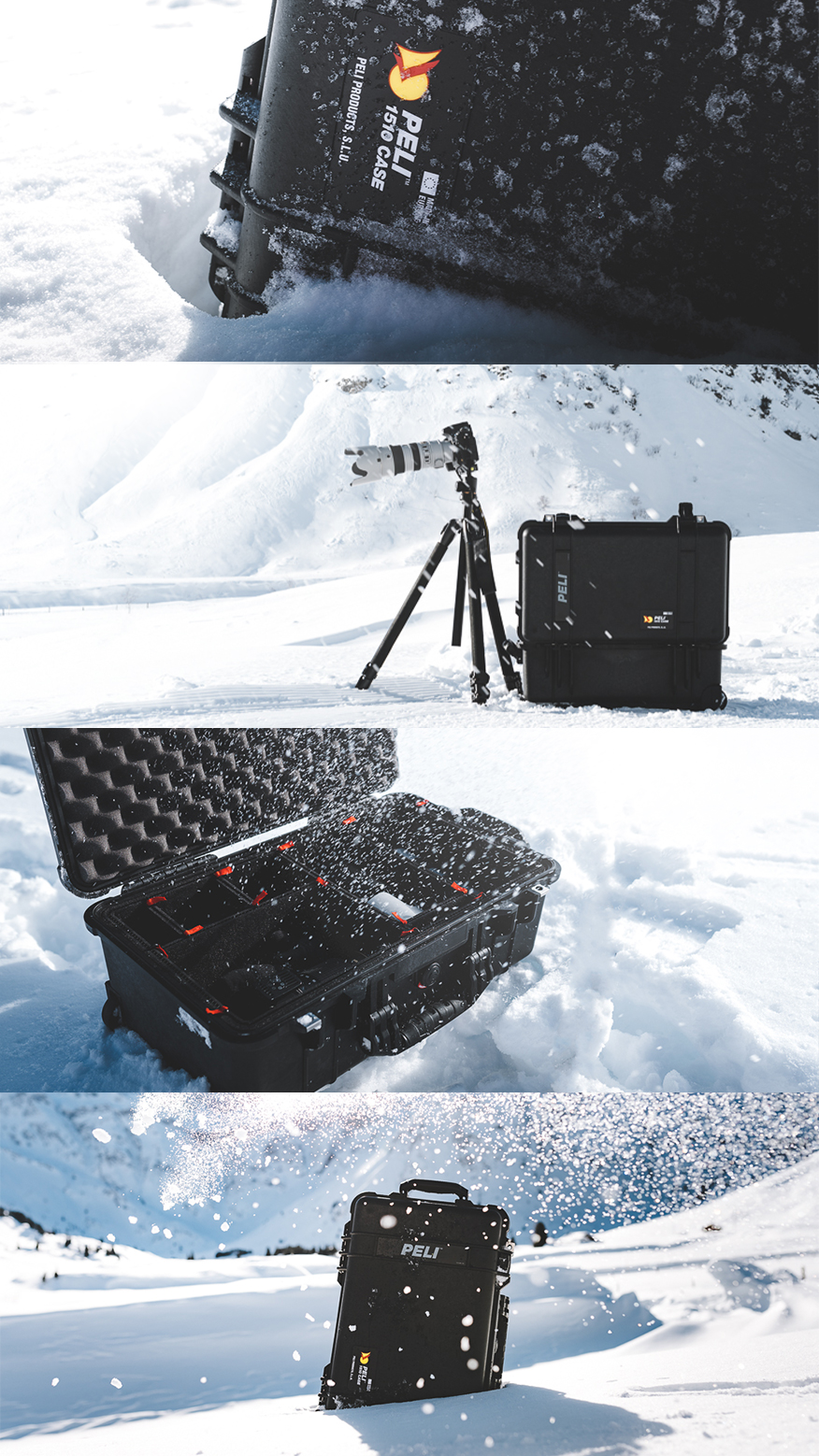 Peli Case X #builttoprotect